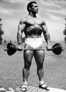 Routine chest workout 70s