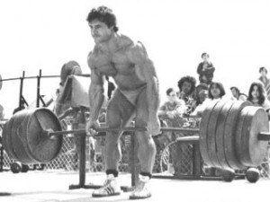 Franco Columbu Deadlift