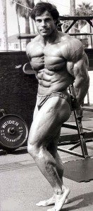 Franco Columbo Flexing